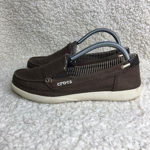 Crocs Canvas Loafer Women's Size 9